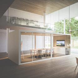 Acoustic Room XXL | Schalldämmende Raum-in-Raum Systeme | Fantoni