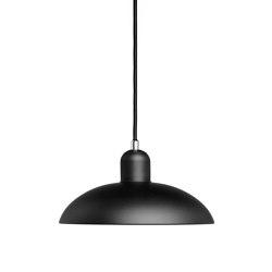 Kaiser Idell™ | 6631-P Black Matt | Lámparas de suspensión | Fritz Hansen