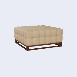 Uley Modular Sofa - Ottoman   Pouf   Harris & Harris