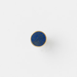 Hook - Stone - Small - Blue Lapis Lazuli | Single hooks | ferm LIVING