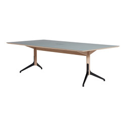 Woodstock Meeting Table | Mesas contract | ICONS OF DENMARK