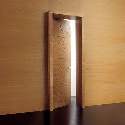 Graffiti | Hinged Door Words | Internal doors | Laurameroni