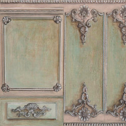 Boiserie a conchiglia | Wall coverings / wallpapers | WallPepper