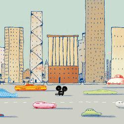 Downtown | Revestimientos de paredes / papeles pintados | WallPepper