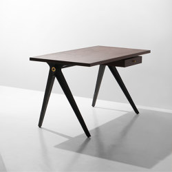 Compass Desk Single Drawer | Schreibtische | District Eight