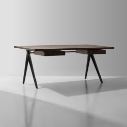 Compass Desk Double Drawer | Schreibtische | District Eight