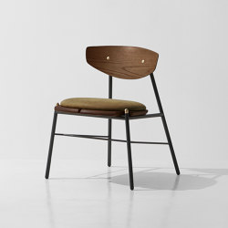 Kink Dining Chair Leather Cushion | Chaises | District Eight
