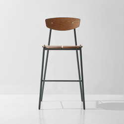 Kink Bar Stool | Taburetes de bar | District Eight