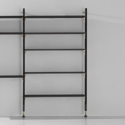 Theo Wall Unit With Large Shelves | Shelving | District Eight