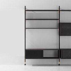Theo Wall Unit With Cabinet | Regale | District Eight