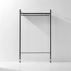 Theo Wall Unit Clothing Rail | Garderoben | District Eight