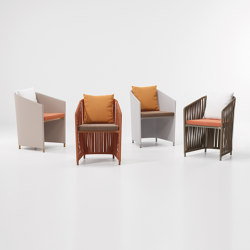 Bitta lounge full dining chair | Sillas | KETTAL