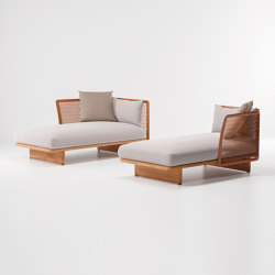 Mesh chaiselongue | Lettini giardino | KETTAL