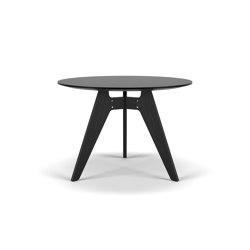 Lavitta Round Table 100 – Black | Tavoli pranzo | Poiat