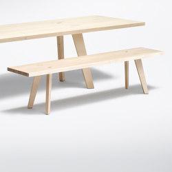 Sennhaus | Bench Sennhaus | Benches | Schmidinger Möbelbau