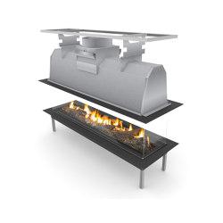 Sinatra Island | Open fireplaces | Planika