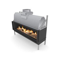Sinatra F | Closed fireplaces | Planika