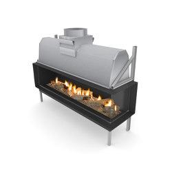 Sinatra FR | Closed fireplaces | Planika