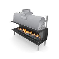 Sinatra LFR | Open fireplaces | Planika