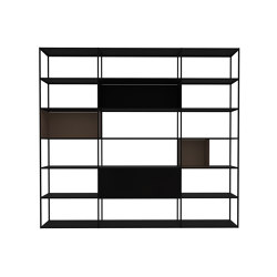 Easy Irony Bookcase | Shelving | ZEUS