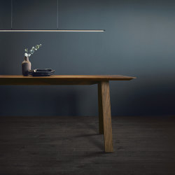 next125 table&bench Nogal natura | Mesas comedor | next125