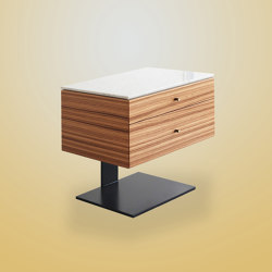 Fiennes Bedside Table | Aparadores | Ivar London