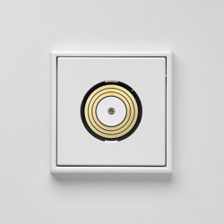 Plug & Light | LS 990 light socket white | Prese elettriche | JUNG
