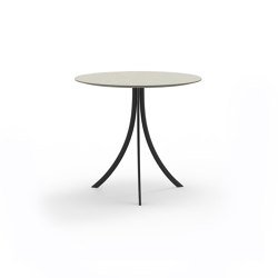Bistro Outdoor Dining table stand with round top | Tavoli bistrò | Expormim