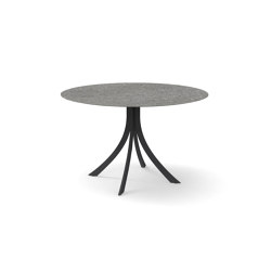 Falcata Outdoor round dining table | Dining tables | Expormim