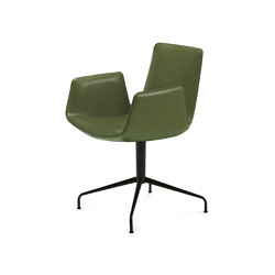 Amelie   Armchair High mit Sternfuß   Stühle   FREIFRAU MANUFAKTUR