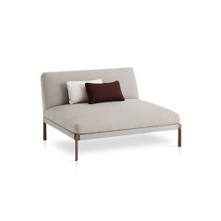 Livit Chaise longue module | Seating islands | Expormim