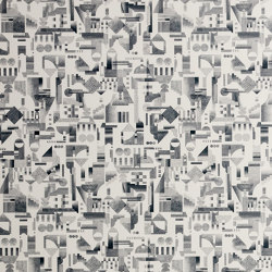 Utopia Ascending | Cream wallpaper | Wall coverings / wallpapers | Petite Friture