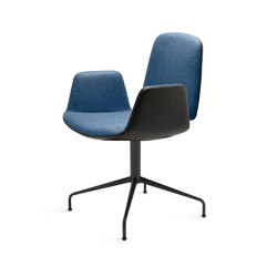 Tilda | Armchair mit Sternfuß | Chairs | Freifrau Sitzmöbelmanufaktur