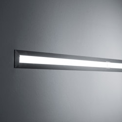 Continuous Rod Minimal Recessed 1m | Outdoor recessed wall lights | Simes