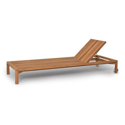 New Hampton Sun lounger | Lettini giardino | Weishäupl