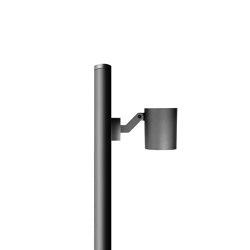 MiniStage Rund Mastansatzleuchte | Scheinwerfer | Simes