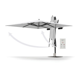 Ocean Master MAX Cantilever - Light, Heating & Automation | Parasols | TUUCI