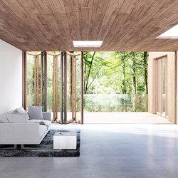 Bi-Folding Doors | Woodline | Types de fenêtres | Solarlux