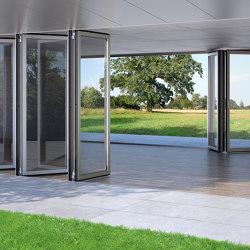 Bi-Folding Doors | Combiline | Types de fenêtres | Solarlux