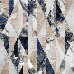 Opus | Tangram patchwork | Naturstein Platten | Lithos Design