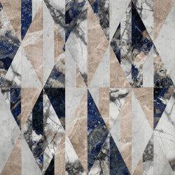 Opus | Tangram Patchwork | Lastre pietra naturale | Lithos Design