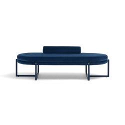 Sigmund Daybed - Versione con cuscino rullo | Day beds / Lounger | ARFLEX