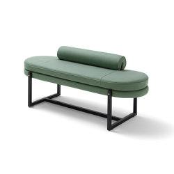 Sigmund Panca - Versione con cuscino rullo | Panche | ARFLEX