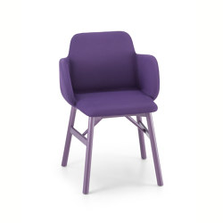 Bardot Armchair 0037 LE CB UPH | Stühle | TrabÀ