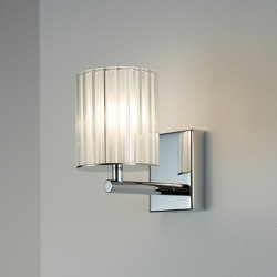 Flute Wall Light chrome | Wall lights | Tom Kirk Lighting