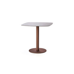 Flamingo Outdoor Dining table stand with elliptical top | Dining tables | Expormim
