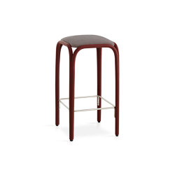 Fontal Upholstered high barstool | Bar stools | Expormim