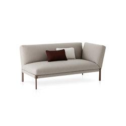 Livit module with armrest | Chaise longue | Expormim