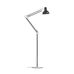 Spring Balanced Lamp⎜floor | black | Free-standing lights | Midgard Licht