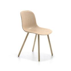 Máni Wood 4WL | Chairs | Arrmet srl